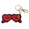 Heart Sunglasses Key Chain Purse Charm