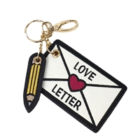 Love Letter Key Chain Purse Charm