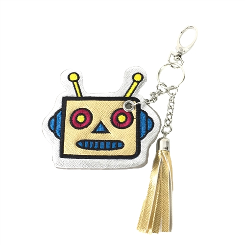 Robot Key Chain Purse Charm