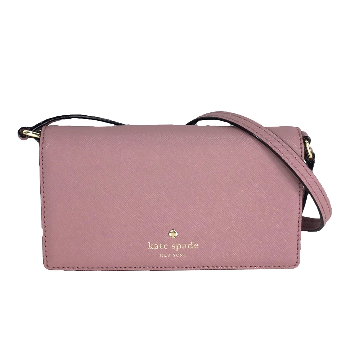 Kate Spade Saffiano Leather iPhone 8 7 6 Wallet Crossbody ac0a05fbf02a9