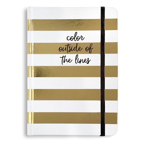 Color Outside The Lines Bound Journal