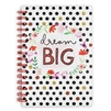 Dream Big Hardcover Spiral Notebook
