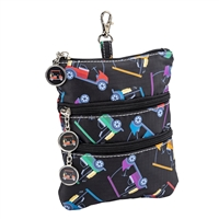 Sydney Love Sport Golf Cart Path Clip On Zip Pouch