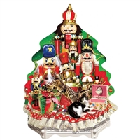 A Nutcracker Christmas 1000 Pc Tree Shaped Jigsaw Puzzle