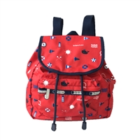 LeSportsac Small Edie Backpack Sailing Views