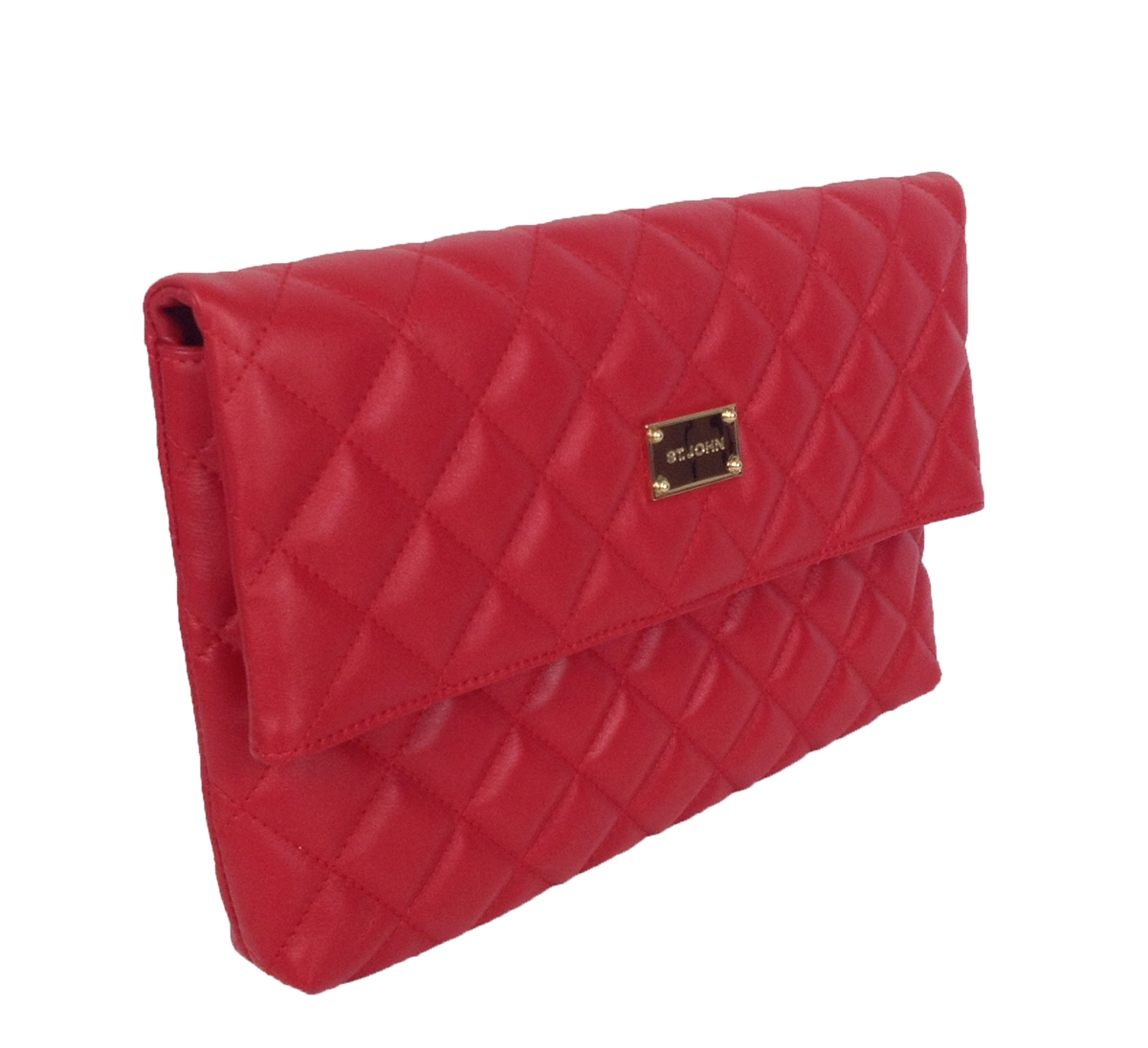 St John Quilted Na Leather Fold