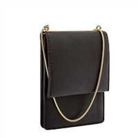 Melie Bianco Ellie Chain Vegan Leather Mini Crossbody
