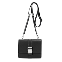 Melie Bianco Stalking Gia Vegan Leather Convertible Belt Bag Crossbody