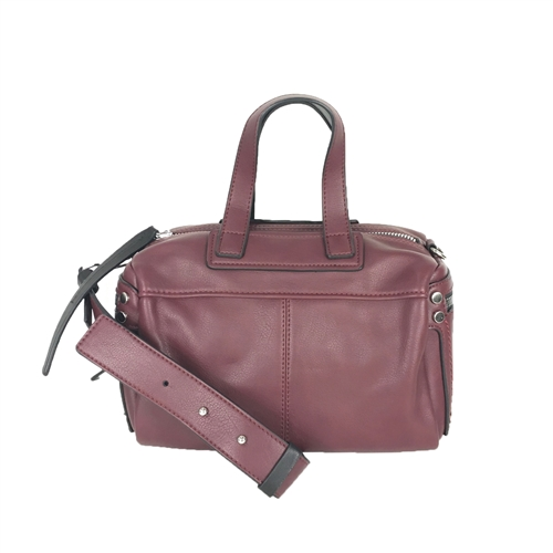 Melie Bianco Sienna Vegan Leather Bowling Bag