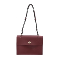 Melie Bianco Madison Vegan Leather Convertble Shoulder Bag