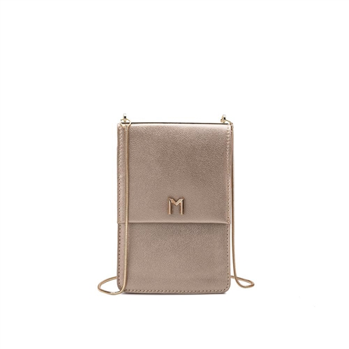 Ellie Vegan Leather Slim Crossbody Evening Bag