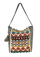 Steven By Steve Madden Alyson Embroidered Hobo