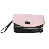 Luv Betsey Johnson Avery Colorblock Wristlet Crossbody
