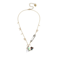 Betsey Johnson Little Cat Pendant Necklace