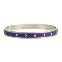 Zad Moon & Stars Celestial Mood Bangle Bracelet