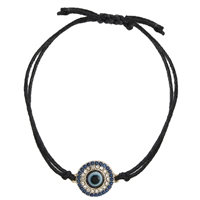 Zad Jewelry Mystical Evil Eye Cord Bracelet