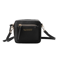 Melie Bianco Evan Quote Mini Crossbody