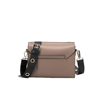 Melie Bianco Sylvana Vegan Leather Grommet Crossbody Bag