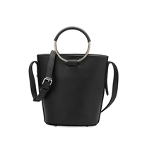 Melie Bianco Stella Vegan Leather Ring Bucket Bag