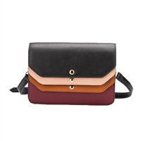 Melie Bianco Tami Colorblock Vegan Leather Crossbody Bag