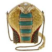 Mary Frances Disney Aladdin Mesmerize 3D Cobra Beaded Handbag