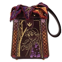Mary Frances Disney Frozen 2 Anna A Dance Of Autumn 3D Wristlet