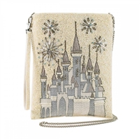 Mary Frances Disney Princess Cinderella Castle Beaded Crossbody