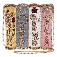 Mary Frances Disney Princess Storybooks Beaded Crossbody
