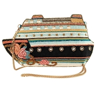 Mary Frances Cruise Control Ship Beaded Crossbody Bag