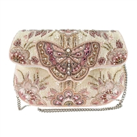 Mary Frances Butterfly Kisses Convertible Clutch Bridal Bag