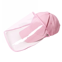 Melie Bianco Baseball Cap with Removable Face Shield