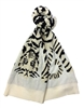 BCBGMaxazria Knit Tiger Graphic Muffler