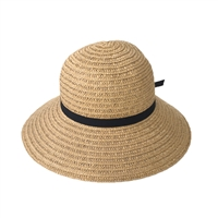 Blue Island Open Weave Straw Sun Hat