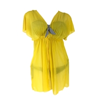 Chiffon Beach Dress Sheer Swim Cover Up