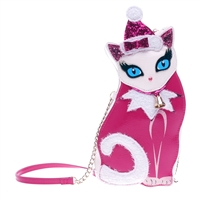 Betsey Johnson Kitsch Holiday Kitty Crossbody