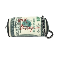 Betsey Johnson Money Roll Crossbody Bag
