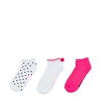 Betesy Johnson Pom Pom Super Soft Ankle Socks