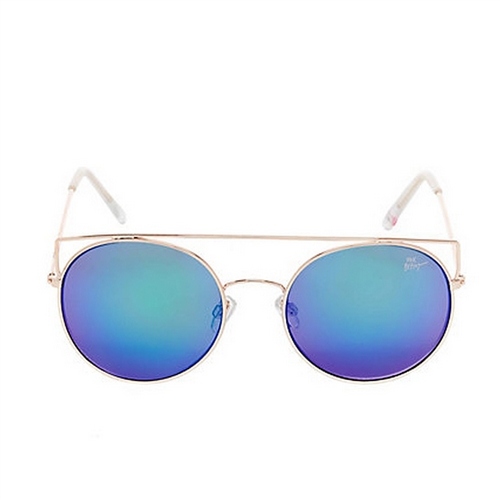 Betsey Johnson Top It Off Colored Lens Sunglasses