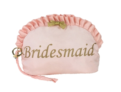 Betsey Johnson 'Bridesmaid' Wristlet Cosmetic Case