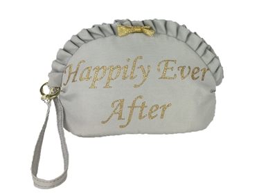 Betsey Johnson 'Happily Ever After' Wristlet Cosmetic Case