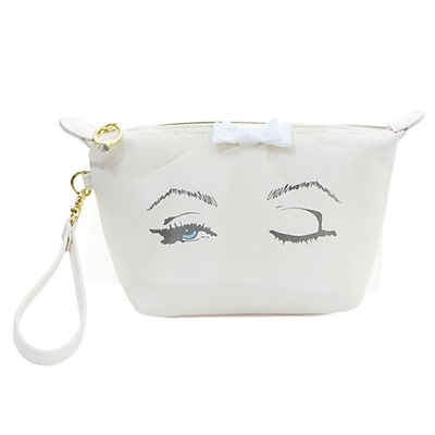 Betsey Johnson Bridal Veil Wristlet Cosmetic Case