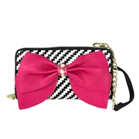 Betsey Johnson Wallet On A String Crossbody