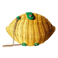 Betsey Johnson Lemon Crossbody