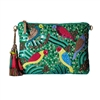 Betsey Johnson Poolside Living Beaded Clutch