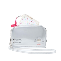 Betsey Johnson A Toast To You Poptart Crossbody