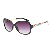 Betsey Johnson Robyn 60 mm Square Sunglasses