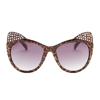 Betsey Johnson Cats Meow Kitten Ears Sunglasses