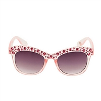 Betsey Johnson Beat The Heat Crystal Sunglasses