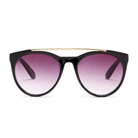 Betsey Johnson Top It Off Oval Sunglasses