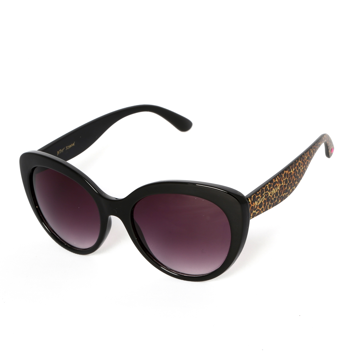 About Johnson Meow It SunglassesBlackleopard Cateye Betsey q435RjAL